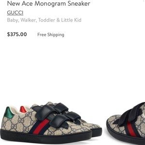 b12dd5e0ee7 Gucci Shoes - GUCCI New Ace Monogram Sneaker